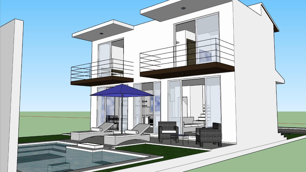 2 Story Huatulco Home